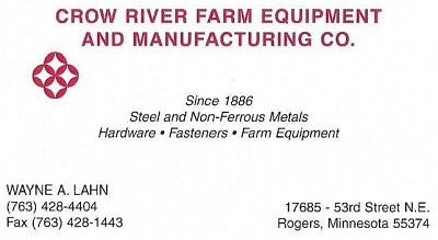 Crow River Farm Equipment